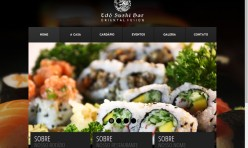 Web Site – Edô Sushi Bar